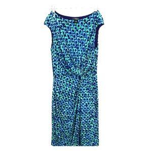 Ralph Lauren Dress Peacok  pattern Size 12